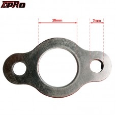 TDPRO Exhaust Pipe Gaskets 20mm Exhaust Carby Manifold Gasket For 48cc 66cc 80cc 2 Stroke Mini Pocket ATV Quad Motorized Bike