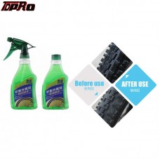 TDPRO Wax WHEEL & TIRE Shine CLEANER Protectant Remove Brake Dust SPRAY Bicycle Bike