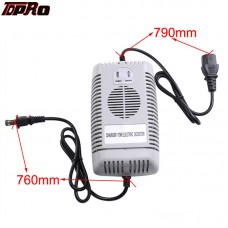 TDPRO 48V 2.5 Amp Battery Charger for Electric Bikes Scooters Go Karts ATVS