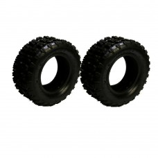 2pcs 13x5-6 Front Knobby Tire + Tube 13x5.00-6 for Mobility Go Kart Razor Scooter
