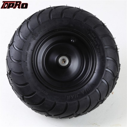 TDPRO 13x5.00-6 Wheels Front Tires Rims Tyre Go-Kart Scooter Lawn Mower ATV