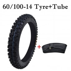 "TDPRO 2.50-14 60/100-14 Kenda 14"" Front TIRE & TUBE DIRT BIKE Motorcycle Off-Road MX"