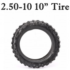 "TDPRO 2.50-10 10"" Tire Tubeless Mini Dirt Bike Honda CRF50 50 XR50 PW50 SSR Front Rear"