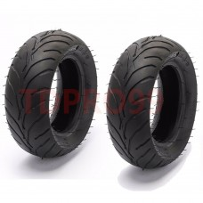 TDPRO 110/50/6.5 + 90/65/6.5 Mini Pocket Bike Front Rear Tire + Inner Tube 47cc 49cc ATV