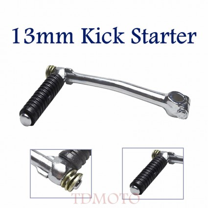 TDPRO 13mm Kick Start Starter Lever For HONDA Monkey CRF50 XR50 CT70 Z50 PitPro Bike