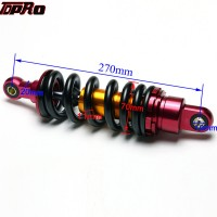 "TDPRO Universal Dirt Bike 10.5"" 270mm Aluminum Spring Rear Motorcycle Suspension Shock Absorber For 70CC ATV Scooter Quad 800lbs"