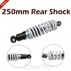 """TDPRO 9.8"""" 250mm Motorcycle Suspension Shock Absorber Spring 400lbs For Mini Go Kart Buggy Quad ATV 70cc 110cc 125cc Dirt Bike"""