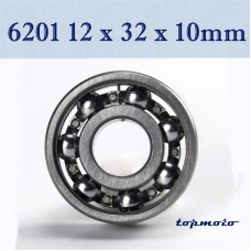 TDPRO 12mmx32mmx10mm 6201 Bearing Deep Groove Ball Bearing
