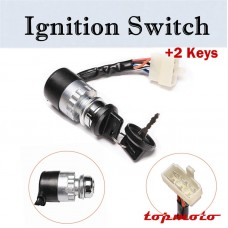 TDPRO 5 Pin Key Ignition Switch ATV Moped Go Kart Electric Motorcycle Dirt Pit Bike