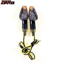 TDPRO Dual Sports Motorcross 14 LED Turn Signals Indicators For Dirt Quad Buggy Bike