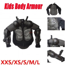 TDPRO Kids Youth Motorcycle Full Body Armor Jacket Spine Chest Protection Gear XXS-L