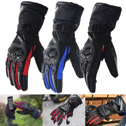 TDPRO Motorcycle Protective Gloves Touch Screen Sports Motocross Winter&Summer Warm Gloves Men Windproof Windproof Moto Guantes