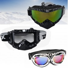 TDPRO Motocross Ski Snow Goggles Anti-fog UV Protection MX Dirt Pit Bike Off-road ATV