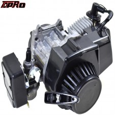 TDPRO 2-Stroke Motorcycle Engine Motor For 47cc-49cc Pocket Bike Mini Quad ATV Bicycle Scooter