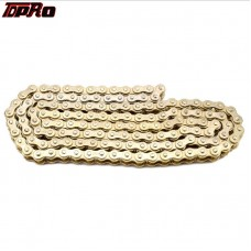 TDPRO 25H Heavy Duty Roller Chain with 1 Connecting Link gold
