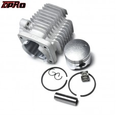 TDPRO 44mm Cylinder Barrel Body Assembly Gas Engines Piston Kit For 49cc 2 Stroke Engine Mini ATV Quad Pocket Dirt Scooter Moped