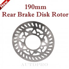 "TDPRO 190mm 7 1/2"" Rear Brake Disc Rotor For Dirt Pit Bike Motorcycle 125cc-160cc TTR"