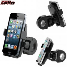 TDPRO Universal Motorcycle Bike Bicycle MTB Handlebar Mount Holder For Cell Phone GPS