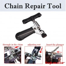 TDPRO Steel Bike Cycling Bicycle Chain Breaker Splitter Cutter Repair Tool