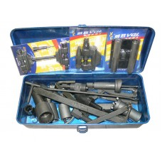 TDPRO Motorcycle Repair Tool Kit Basic Set Hardware Tools Kit Box 24 PCS Motorbike
