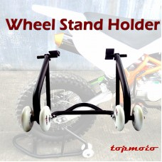TDPRO Motorcycle Rear Stand Heavy-Duty Motorbike Lift Paddock Carrier Bike Honda KTM