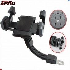 TDPRO Motorcycle Holder Scooter Stand Mount Bracket for Mobile Phone PDA GPS MP4 iPhon