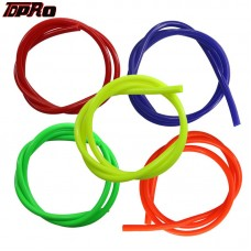 TDPRO 5 Colors 1M Fuel Gas Oil Delivery Tube Hose Petrol Line Pipe For Suzuki Yamaha KTM Motorcycle Dirt Pit Bike ATV Quad Buggy