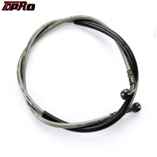 TDPRO 1220mm Hydraulic Brake Line Hose Cable Motorbike Dirt ATV Quad Bike Buggy Go Kart
