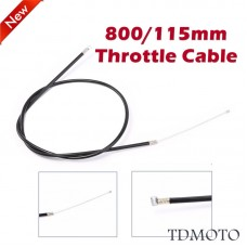 TDPRO Throttle Cable 800mm for 2 stroke 49cc Scooter Dirt Bike ATV Pocket Bike TaoTao