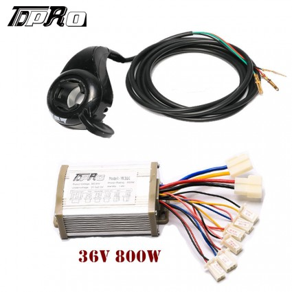 36V 800W Motor Brushed Controller Speed Control Thumb Twist Throttle Scooter e